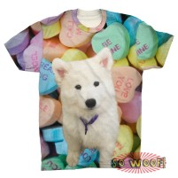 Candies Background Mens T Shirt