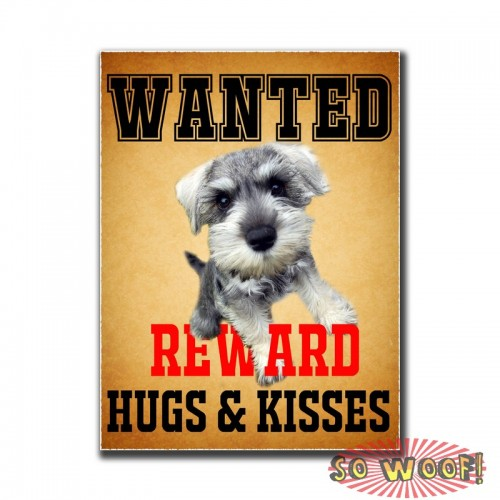 WANTED Poster Pets Dogs Cats Personalized Bumper Window Sticker with Photos Portrait