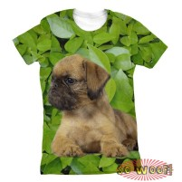 Green Leaves Background womens T Shirt