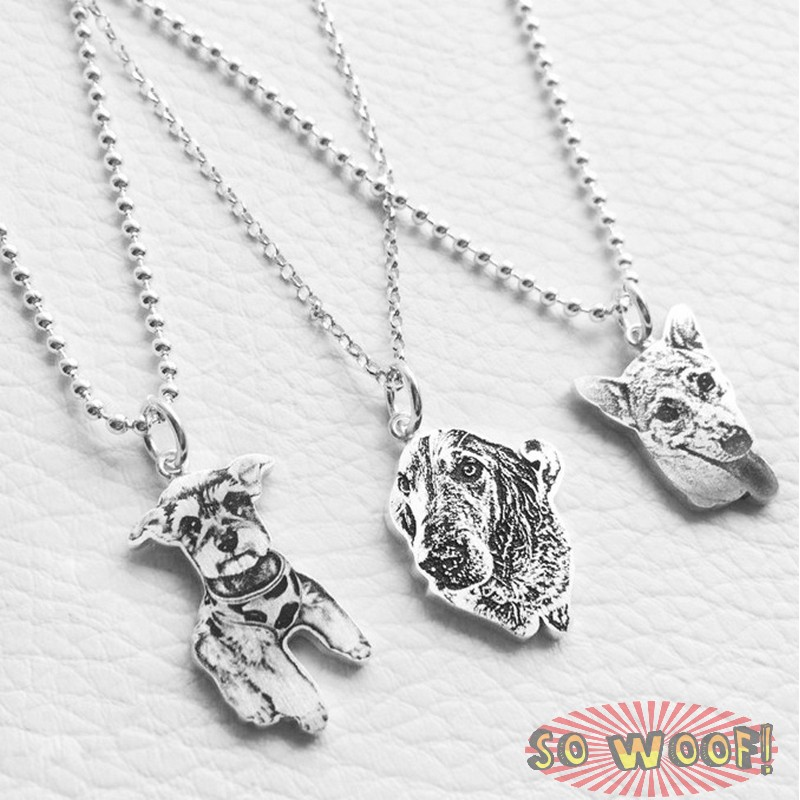 Dogs cats photos portrait engraved silver pendant with necklace pet dogs cats photos portrait engraved silver pendant with necklace mozeypictures Choice Image