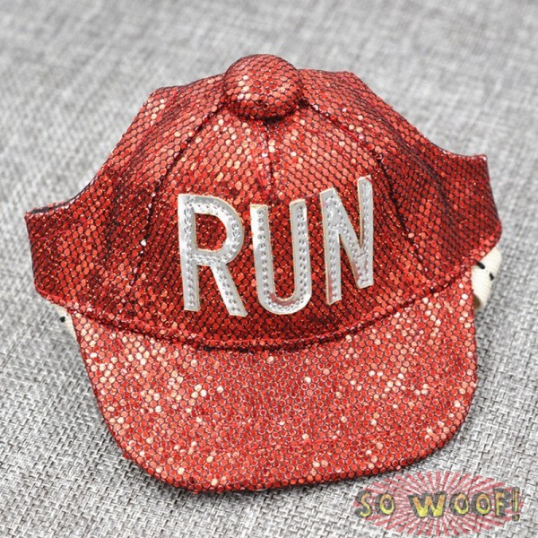 Pets Dogs Cats Hip Hop Sequins Bling Bling NEW Baseball Cap Hat