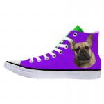 Customized Dog Cat Pet Personalized Portrait High Top Sneakers Shoes for Mens